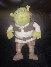 """Shrek Soft Toy Plush Shrek2 Bean Filled 2004 12"""""""