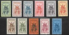 Martinique (1933) - Scott #  J26 - J36,    MH