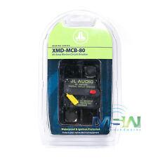 JL AUDIO XMD-MCB-80 WATERPROOF IGNITION PROTECTED MARINE CIRCUIT BREAKER 80 AMP
