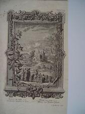 Gravure de la Bible par I.A. Fridrich