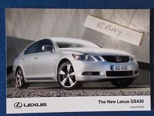 "Original Press Promo Photo - 7""x5"" - Lexus - GS430 - 2005"