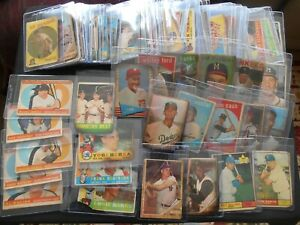 Huge Vintage Baseball Card Lot 115 LOADED Mantle Clemente Aaron Musial Koufax RC