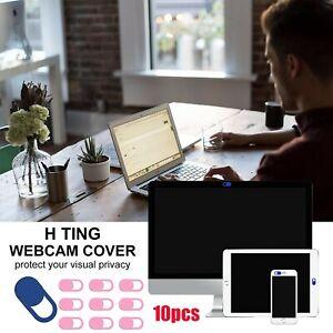 10PCS Webcam Cover Web Camera Privacy Blocker Computer Phone Ultra-Thin easy