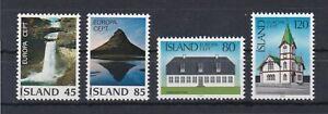 7758 Island Europa 522-23+530-31 postfrisch (651)
