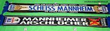 """Anti Mannheim Schal """"Scheiss"""" Kurve Ultra Fan Block + 100 % Acryl + NEU +"""
