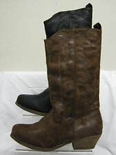 Zip Cowboy, Western Synthetic Boots for Women