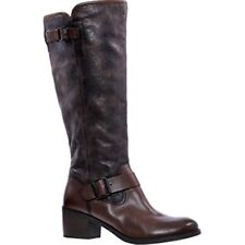 Esprit Womens UK 3 EU 36 Brown Knee High Tarnished Leather Knee High Tall Boots