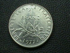 FRANCE    1  Franc    1977    ALMOST  UNCIRCULATED