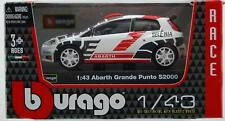 BBURAGO RACE Fiat Abarth Grande Punto S2000 / Scale 1:43 / NEW - Boxed