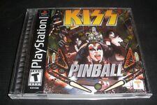 KISS Pinball  (Sony PlayStation, 2001) MINT Disc