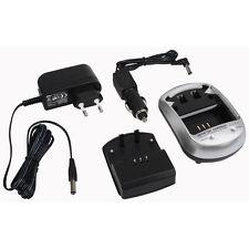Ladegerät + KFZ Ladekabel für Panasonic Lumix DMC-FZ45