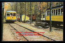 LMH Postcard TROLLEY Streetcar  CONNECTICUT Railway 3001  HOBBYVILLE 1964 Promo