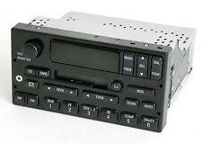 New listing 00-04 Ford F150 Pickup Radio Am Fm Cassette w Cd Ctrl Aux Input - Yl3F-18C870-Aa