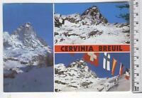 Cartolina Val D'Aosta-Cervinia Breuil Panorama-AO 3043