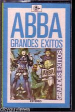 ABBA Grandes Exitos 1980 Made in Spain Oop & Rare Cassette 70s Pop Spanish