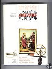 LE MARCHE DES ANTIQUITES EN EUROPE 1969 ART 200 POINCONS MOBILIER ORFEVRERIE ...