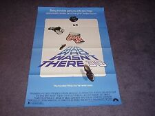 MAN WHO WASN'T THERE 3D original movie poster STEVE GUTTENBERG /  JEFFREY TAMBOR