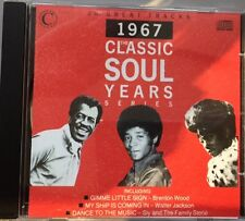 VARIOUS - 1967 The Classic Soul Years Series CD NEW CONNOISSEUR COLLECTION
