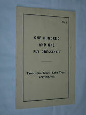 One Hundred and One Fly Dressings Sea Lake Trout Grayling E Veniard Number 6