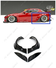 FRP Rear Over Fender Flare For 09-12 Mazda RX-8 SE3P PD RB Style Style