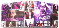 The Joker Suicide Bifold Wallet purse zip pocket card id Jared Leto Multi images