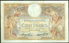 FRANCE 100 FRANCS LUC OLIVIER MERSON du 14/12/1933 ETAT:   TTB+   # D 42065