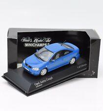 Minichamps 430049120 Opel Astra Coupe Baujahr 2000 in blau, 1:43 , OVP, K089
