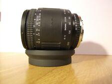 Olympus fit Sigma zoom  28-200mm F/3.8-5.6 Lens 72mm + HOOD Free UK Post