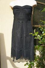 GRAYDN 8 black evening little dress lace Neiman Saks 6 M S Nordstrom strapless