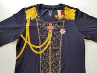 Uniqlo: Rose of Versailles Tshirt - Navy Blue - S Only - Shonen Jump 50th