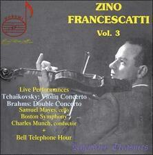 NEW Zino Francescatti, Vol. 3 (Audio CD)