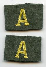 Original Wehrmacht Paar Schulterstück Überschübe Nachrichten Abteilung 3. Reich