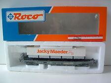 """ROCO H0 EXKLUSIV Einheitstaschenwagen SBB CFF """"JACKY MAEDER"""" OVP M382"""
