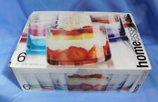 New listing Nib - Set of 6 Assorted Colors Bottom Taster Glasses by Home Essentials