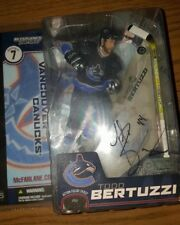 TODD BERTUZZI VANCOUVER CANUCKS NHL SIGNED/AUTOGRAPHED McFARLANE FIGURE