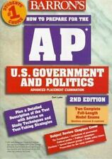 How to Prepare for the AP Test:U.S. Government&Politics,exc. cond,2nd edition