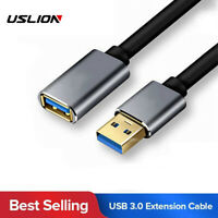 USB 3.0 Extension Cable Data Extender Cord Standard Type A Male to Female 5Gbps