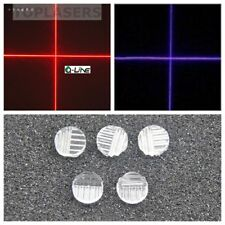 5pcs 8mm Dia Plastic Laser Cross Lens Colophony 90 Degree f Blue/Red/IR Diodes
