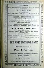 1926 Mechanicville, Ballston Spa & Stillwater New York City Directory
