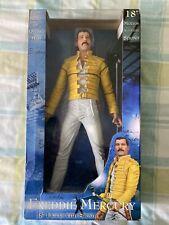 """Freddie Mercury - Queen : Original 18"""" NECA Figure With Sound 2006 Toy Doll"""