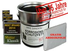 4 kg Mike Sanders Korrosionsschutzfett Hohlraumversiegelung + Abdeckplane GRATIS