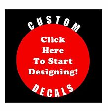 Brand New Custom Name Die Cut Vinyl Decal Sticker Car Window Wall Laptop font