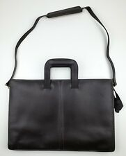 Beautiful Vintage Mens Briefcase - Pegasus Made in the USA - Brown Leather