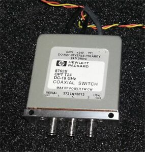 HP8762B coaxial relay