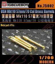 Bigblueboy PE 1/700 USN Mk110 57mm/70 Cal Brass Barrels 75002