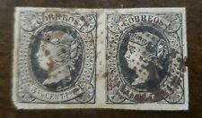 PHILIPPINES STAMP PAIR OF #20 used hinged
