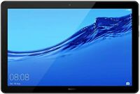 Huawei MediaPad T5 Tablet, 10.1 inch 1080p HD screen, (Black, WiFi & LTE)-16GB