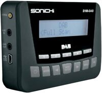 SONICHI S100-DAB In-Car Digital Radio Adaptor / FM Tuner - MP3 & iPod Connection