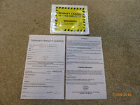 10 Joke Fake Parking Tickets - Very Realistic Top Prank