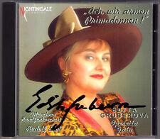 Edita GRUBEROVA Signiert OPERETTA GALA Strauss Kalman Lehar Zeller CD Autograph